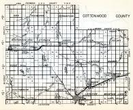 Cottonwood County, Ann, Highwater, Germantown, Westbrook, Storden, Amboy, Delton, Selma, Minnesota State Atlas 1954