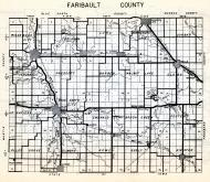 Fillmore County, Sumner, Jordan, Chatfeld, Pilot Mount, Rushford, Spring Valley, Fountain, Bloomfield, Minnesota State Atlas 1954