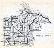Goodhue County, Holden, Stanton, Cannon Falls, Burnside, Featherstone, Hay Creek, Florence, Cherry Grove, Minnesota State Atlas 1954