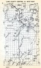 Lake County - Central and West, Silver Creek, Toimi, Jordan, Minnesota, Minnesota State Atlas 1954