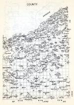 Lake County 2, National, Beaver Bay, Forest Crystal Bay, disappointment Lake, Minnesota State Atlas 1954