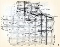 Lake of the Wood County 2, Chilgren, Zippel, Wheeler, Myhre, Wabanica, Pette, Pioneer, Meadowland, Minnesota State Atlas 1954