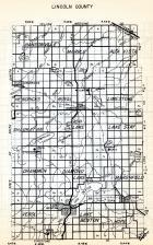 Lincoln County, Hansonville, Marble, Alta Vista, Hendricks, Royal, Limestone, Shaokatan, Drammen, Diamond Lake, Minnesota State Atlas 1954