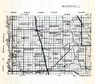 Marshall County 1 , Eagle Point, Donnelly, Sinnott, Augsburg, Nelson Park, Lincoln, Fork, Parker, Tamarac, Wright, Minnesota State Atlas 1954