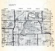 Marshall County 2, East Park, Huntly, Lake Moose, New Maine, spruce Valley, Cedar, Rollis, Velot, New Folden, Excel, Holt, Minnesota State Atlas 1954