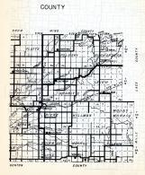 Morrison County 2, Platte, Pulasky, Richardson, Freedhem, Leigh, Granite, Pierz, Buckman, Morrill, Minnesota State Atlas 1954