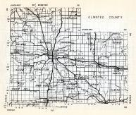 Olmsted County, New Haven, Farmington, Kalmar, Cascade, Haverhill, Viola, Quincy, Salem, rochester, Marion, Eyota, Dover, Minnesota State Atlas 1954