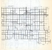 Pennington County 2, Cloverleaf, Goodridge, Reiner, Kratka, Mayfield, Deer Park, Hickory, Minnesota State Atlas 1954