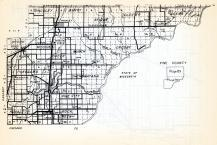 Pine County - South, Hinckley, Barry, Clover, Ogema, Arlone, Brook, Mission, Pokegima, Chengwatana, Royalton, Pine City, Minnesota State Atlas 1954