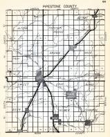 Pipestone County, Altona, Aetna, Fountain Prairie, Troy, Grange, Sweet, Gray, Burke, Eden, Minnesota State Atlas 1954