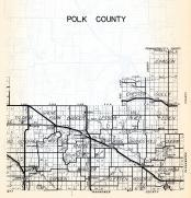 Polk County 2, Tilden, Grove Park, Badger, Lessor, Chester, Johnson, Gully, Godfrey, Woodside, Knute, Minnesota State Atlas 1954