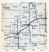 Roseau County 1, Blooming Valley, Pohlitz, Dieter, Soler, Moose, Ross, Jadis, Polonia, Barto, Minnesota State Atlas 1954