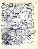 St. Louis County - South and East, Central Lakes, Bailey, Ellsmere, Scheils, Whiteface, Rush Lake, Canosia, Bartlet, Minnesota State Atlas 1954