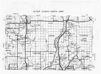Aitkin County 2 - North, Minnesota State Atlas 1956