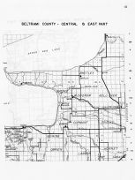 Beltrami County - Central and East, Upper Red Lake, Minnesota State Atlas 1956