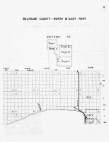 Beltrami County - North and East, Minnesota State Atlas 1956