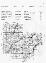 Carver County Highway Map, Minnesota State Atlas 1956