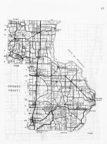 Chisago County, Stacy, Minnesota State Atlas 1956