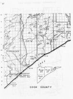 Cook County, Lutsen, Sugarloaf Point, Minnesota State Atlas 1956
