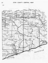 Cook County - Central, Minnesota State Atlas 1956