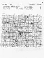 Freeborn County Highway Map, Minnesota State Atlas 1956