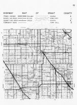 Grant County Highway Map, Minnesota State Atlas 1956