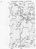 Lake County - Central and West, Minnesota State Atlas 1956
