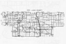 Red Lake County, Minnesota State Atlas 1956
