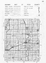 Rock County Highway Map, Minnesota State Atlas 1956