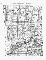 St. Louis County - Central and West 3, Minnesota State Atlas 1956