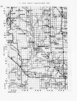 St. Louis County - South and West 5, Minnesota State Atlas 1956