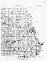 Stearns County Highway Map 2, Minnesota State Atlas 1956