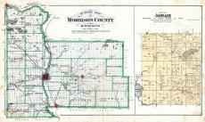 County Outline, Agram, Morrison County 1892
