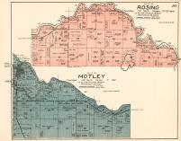 Rosing and Motley Townships, Morrison County 1920c