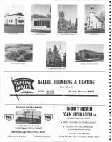 Hillman Post Office, Randall, Royalton, Harding, Pierz, Little Falls, Ballou Plumbing & Heating, Evans Implement, Morrison County 1978