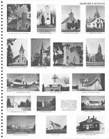 Holy Family Catholic Church, Hillman Lutheran Church, Randall Presbyterian Church, Bethany Lutheran Church, Morrison County 1978
