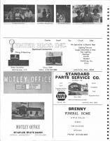 Powell, Prenovost, Hauer Bros, Motley Office, Standard Parts Service, Staples State Bank, Brenny Funeral Home,, Morrison County 1978