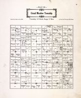 Grand Meadow Township, Grand Meadow - West, Mower County 1915