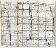 Mower County Map, Mower County 1915