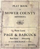 Title Page, Mower County 1915