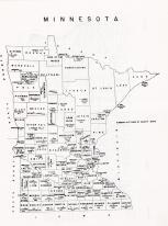 Minnesota State Map, Nicollet County 1962