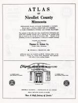 Title Page, Nicollet County 1962