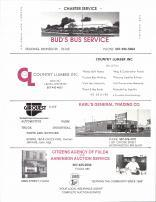 Bud's Bus Service, Country Lumber Inc., Car Quest, Karl's General Trading Co., Citizens Agency of Fulda, Nobles County 1989