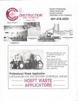 Hoeft Construction and Excavation, Hoeft Waste Applicators, Nobles County 1989