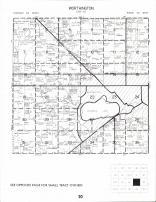 Worthington Township, Okbena Lake, Nobles County 1989