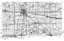 Olmsted County Highway Map 2, Olmsted County 1956