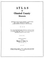 Title Page, Olmsted County 1956
