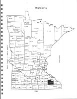 Minnesota State Map, Olmsted County 1983