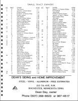 New Haven Township Owners Directory, Ad - Dean's Siding and Home Improvement, Olmsted County 1983