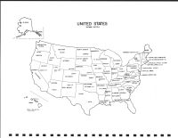 United State Map, Olmsted County 1983
